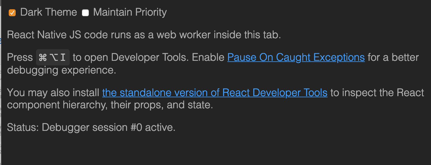 debugger-ui on browser