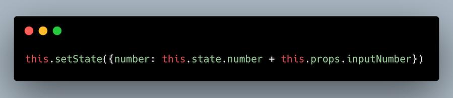 تغییر غلط در setState