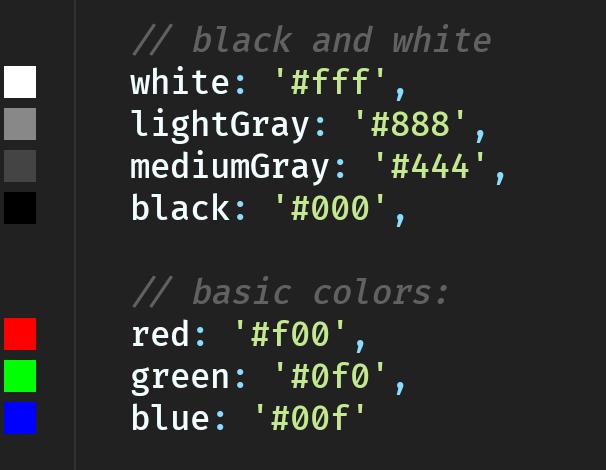 هکس کد های معروف که لازمه بلد باشیم