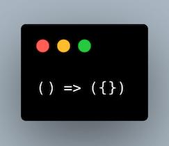 آبجکت در خروجی یک Arrow func