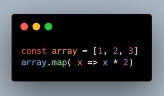 استفاده از تابع map بر روی یک آرایه