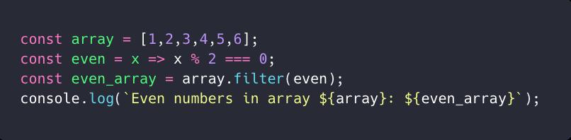 استفاده از filter بر روی یک لیست