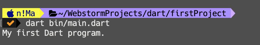 روش اجرای فایل دارت