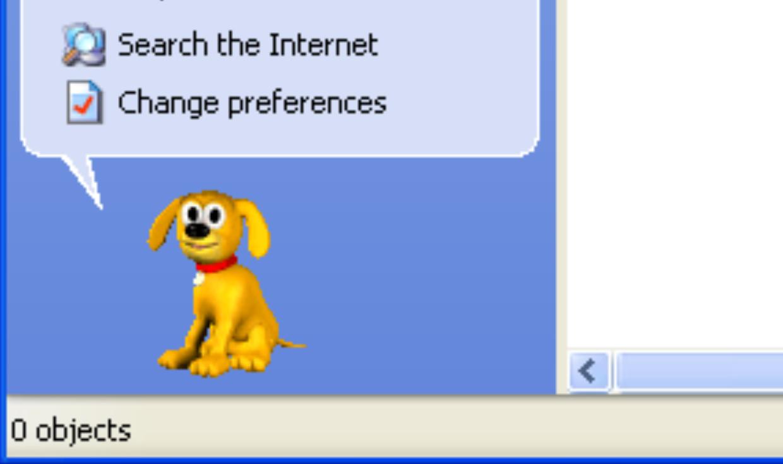 نقش سگها در تجربهی کاربری ویندوز