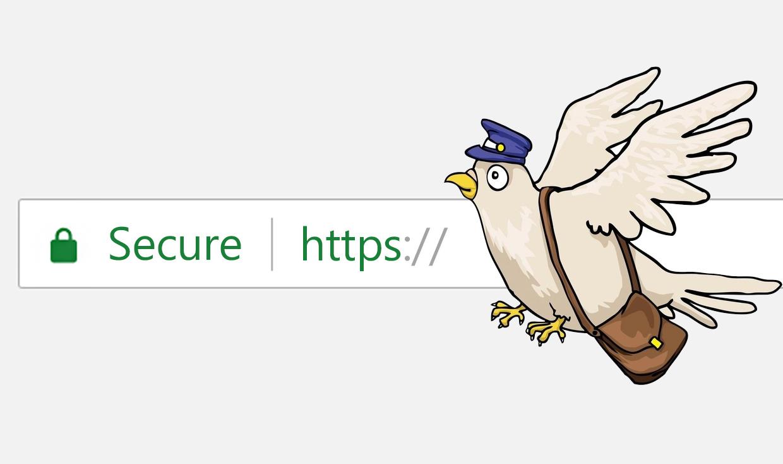 رمزنگاری HTTPS به بیان وِیس و رامین و کبوتر!