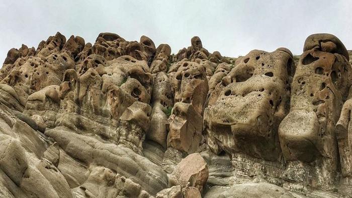 ارواح سنگی در روستای وردیج-واریش