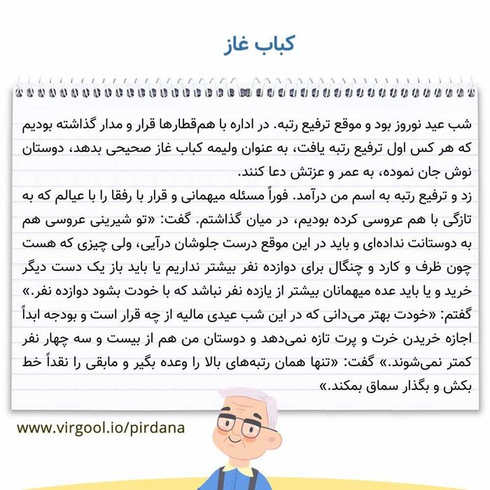 معنی کلمات و اصطلاحات درس کباب غاز فارسی دوازدهم