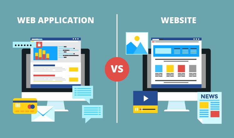 فرق بین طراحی وب اپلیکیشن و طراحی سایت