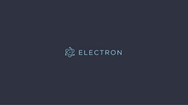 ساخت اپلیکیشن دسکتاپ با Electron js