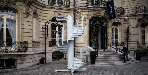 مزایده پلکان برج ایفل پاریس