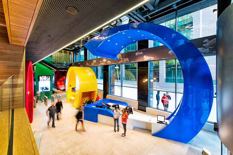 فرهنگ سازی سازمانی به روش گوگل...