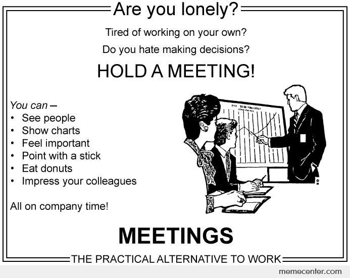 چرا جلسه برگزار کنیم؟