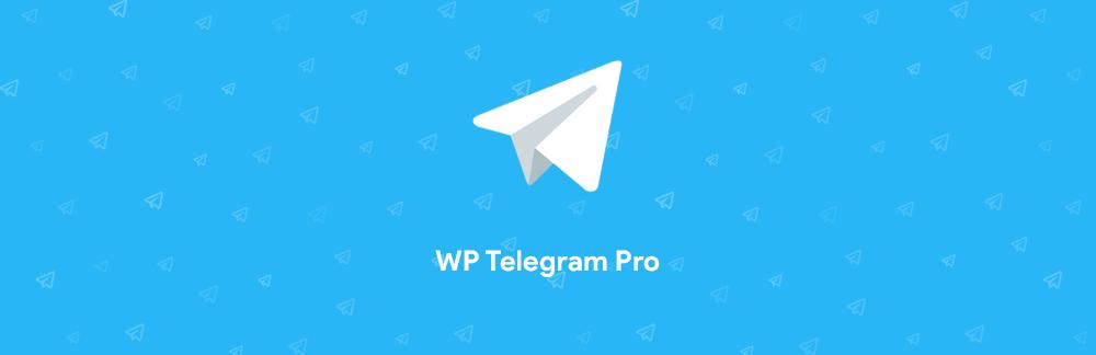 اتصال وردپرس به تلگرام با WP Telegram Pro