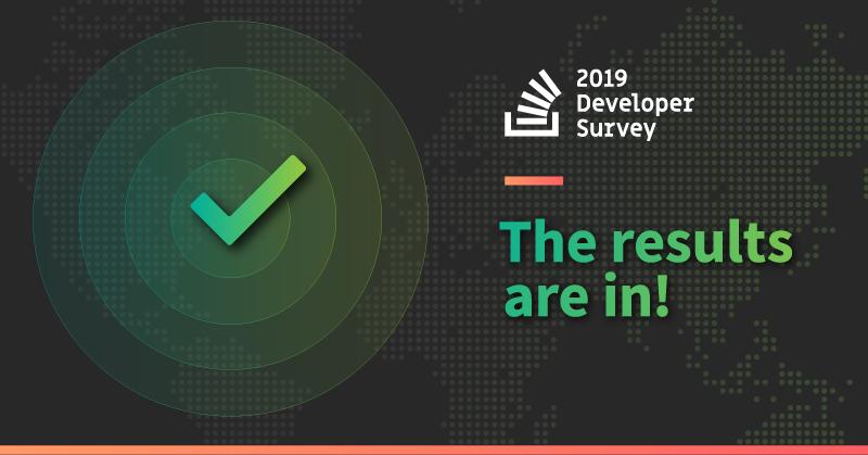 بررسی نتایج کلیدی نظرسنجی Stackoverflow 2019