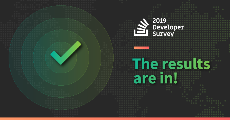 بررسی نتایج نظرسنجی Stackoverflow 2019
