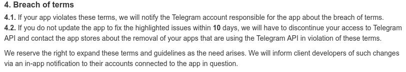 تلگرام در قوانینش میگه با متخلفین برخورد میکنه، برخوردی که انجام نمیشه...