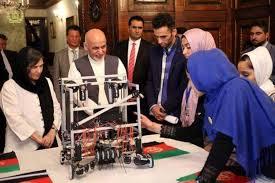 دختران ربات ساز افغان