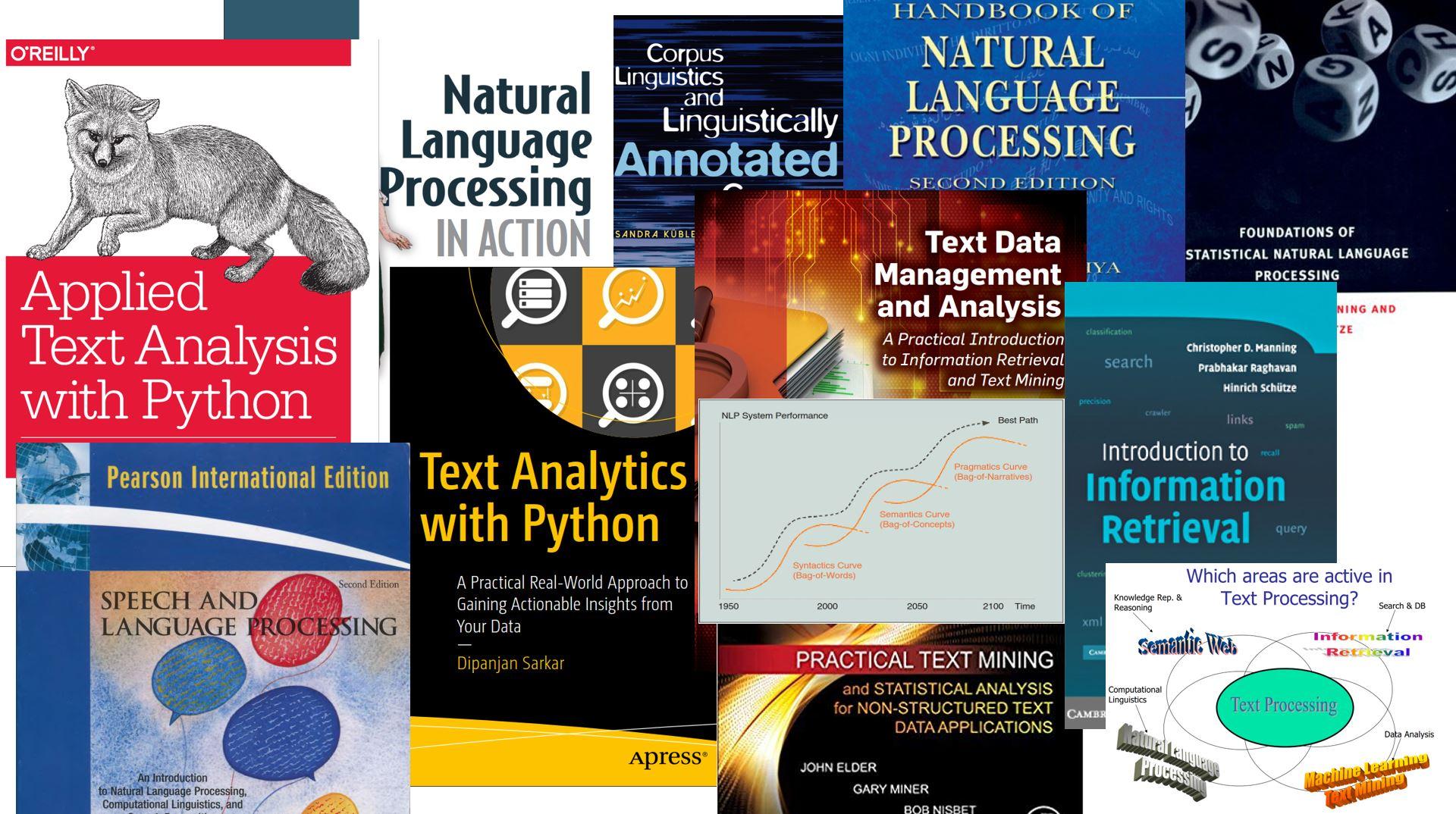 معرفی کتابهای برتر در زمینه متن کاوی و پردازش زبان طبیعی
