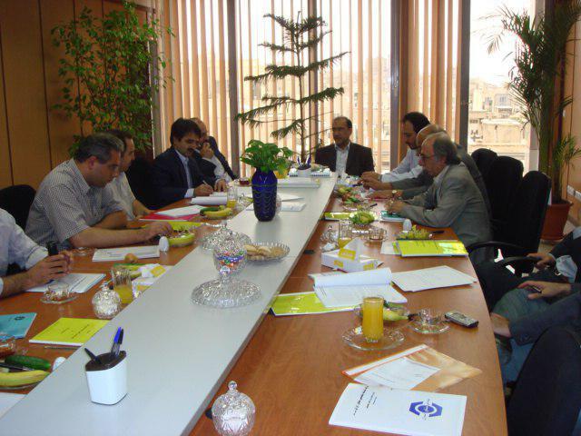 هیات مدیره شرکت خدمات مهندسی مشاور ایران