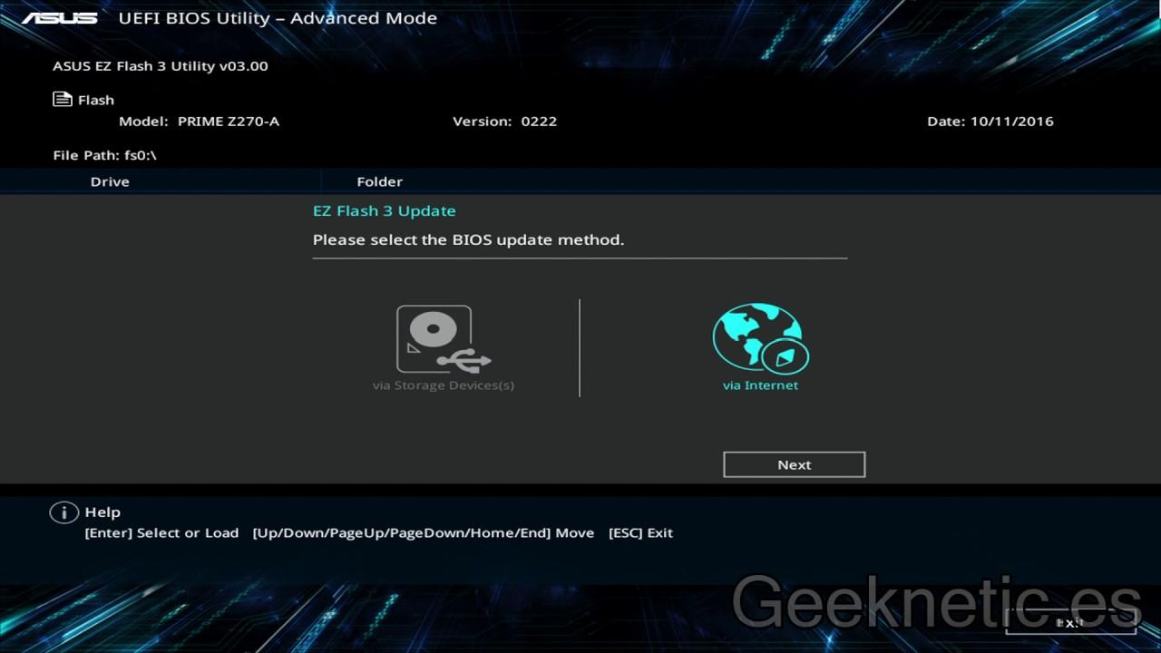 صفحه آپدیت برای Asus، اگه اینترنتتون وصله میتونید مستقیم از همینجا آپدیت کنید بدون دردسر.