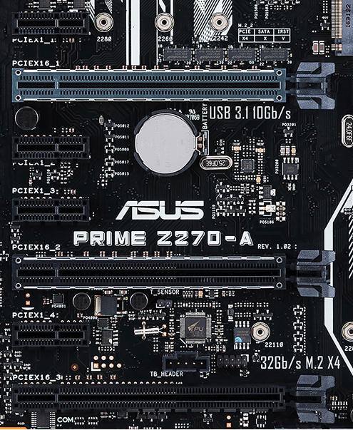 پورت های PCIEX1 و PCIEX16 قابل استفاده هستند