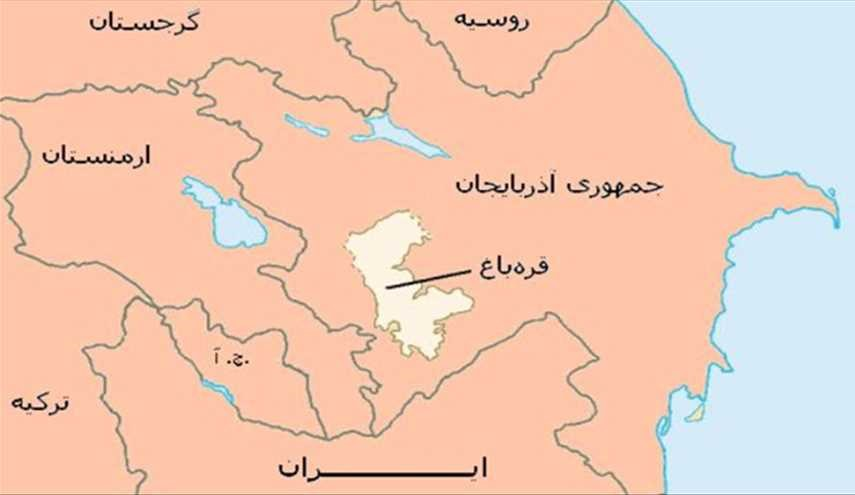 موقعیت ژئوپولتیک قرهباغ میان ایران، ارمنستان و آذربایجان