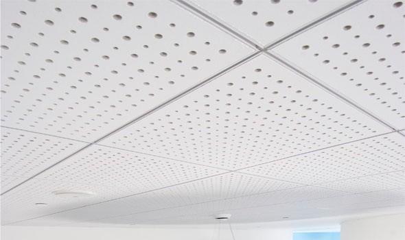 مزایای سقف های آکوستیک