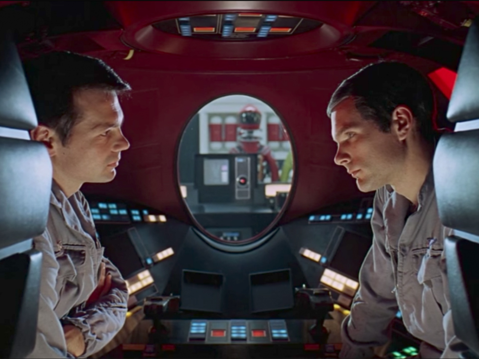2001: A Space Odyssey نمای دونفره از
