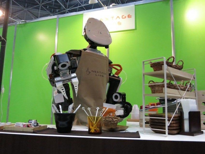 انقلاب ربات های باریستا !!
