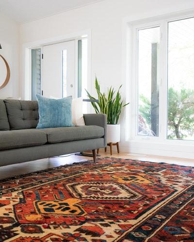 روش شستن فرش با شامپو فرش