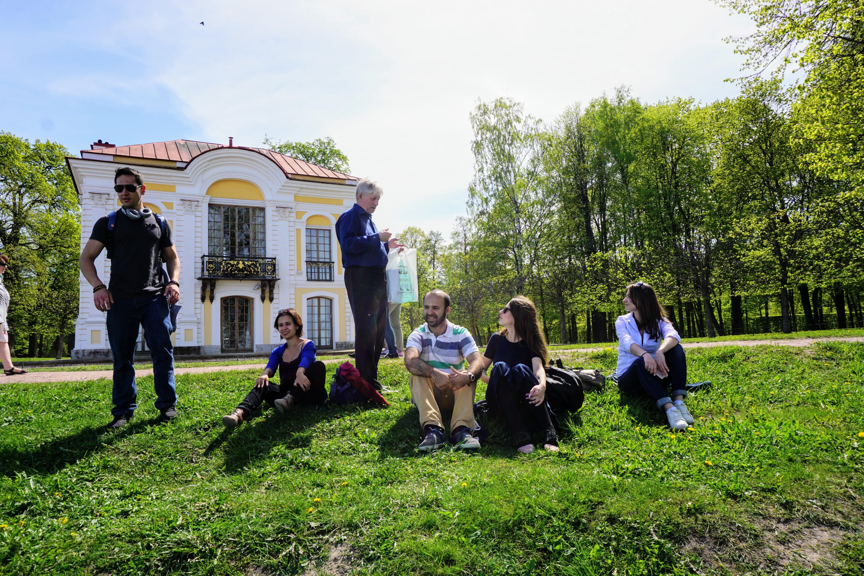 خاطرات سفر روسیه (روز پنجم: پیترگوف)