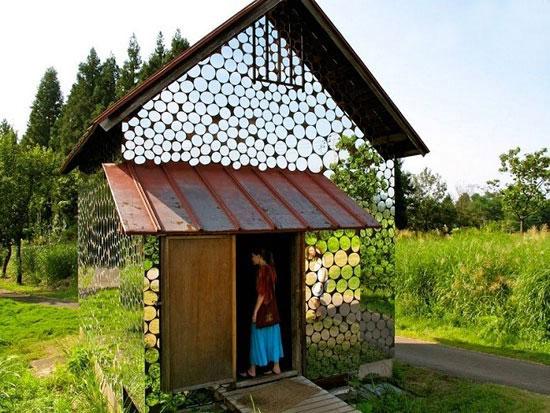 خانه آینه ای ؛یک معماری خلاقانه