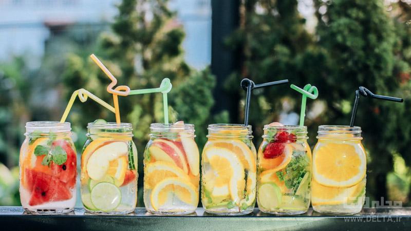 دتاکس واتر ؛نوشیدنی خوشمزه برای سم زدایی بدن