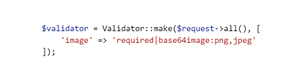 تجربه آپلود تصاویر با کدگذاری base64 در لاراول