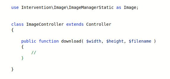 تغییر ابعاد تصویر با توجه به درخواست کاربر در لاراول (کتابخانه Intervention)
