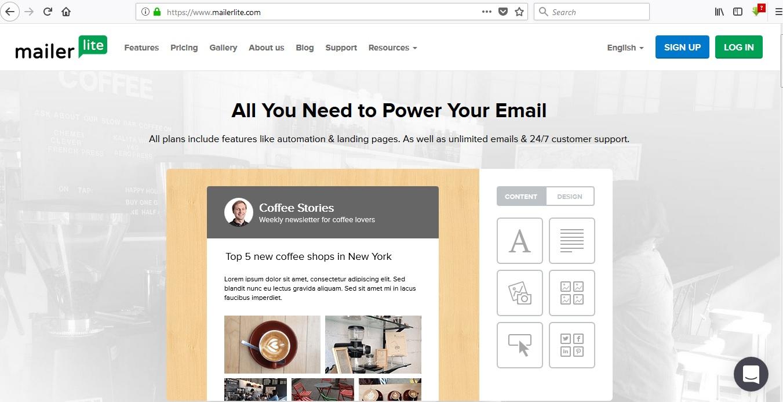 معرفی mailerlite ، ابزاری مناسب برای ایمیل مارکتینگ