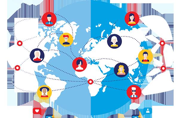 انواع شبکه های اجتماعی و نحوه رفتار در آنها