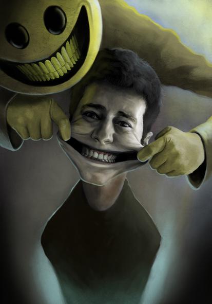 مگه می شه کسی از خندیدن بترسه؟!