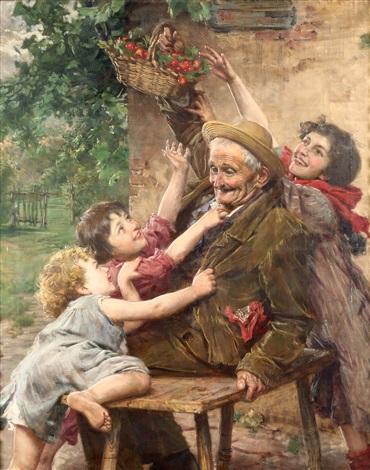 Gaetano Bellei اثر نقاش ایتالیایی