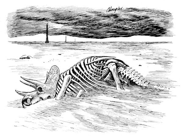 Dinosaur Extinction, Triceratops horridus