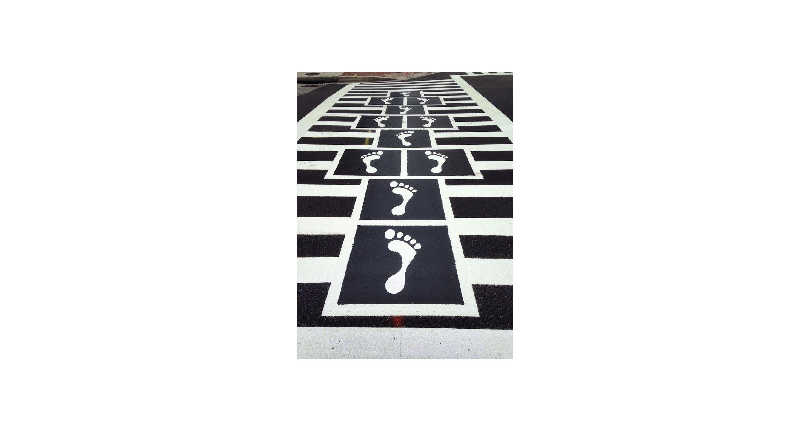 عکس داستانک(قسمت پانزدهم:خط عابر پیاده!)