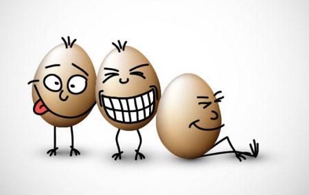"""طنزک""""حماقت های تخم(مرغ)ی!"""""""