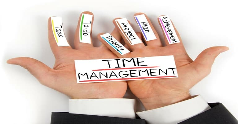 راهکارهای مدیریت زمان