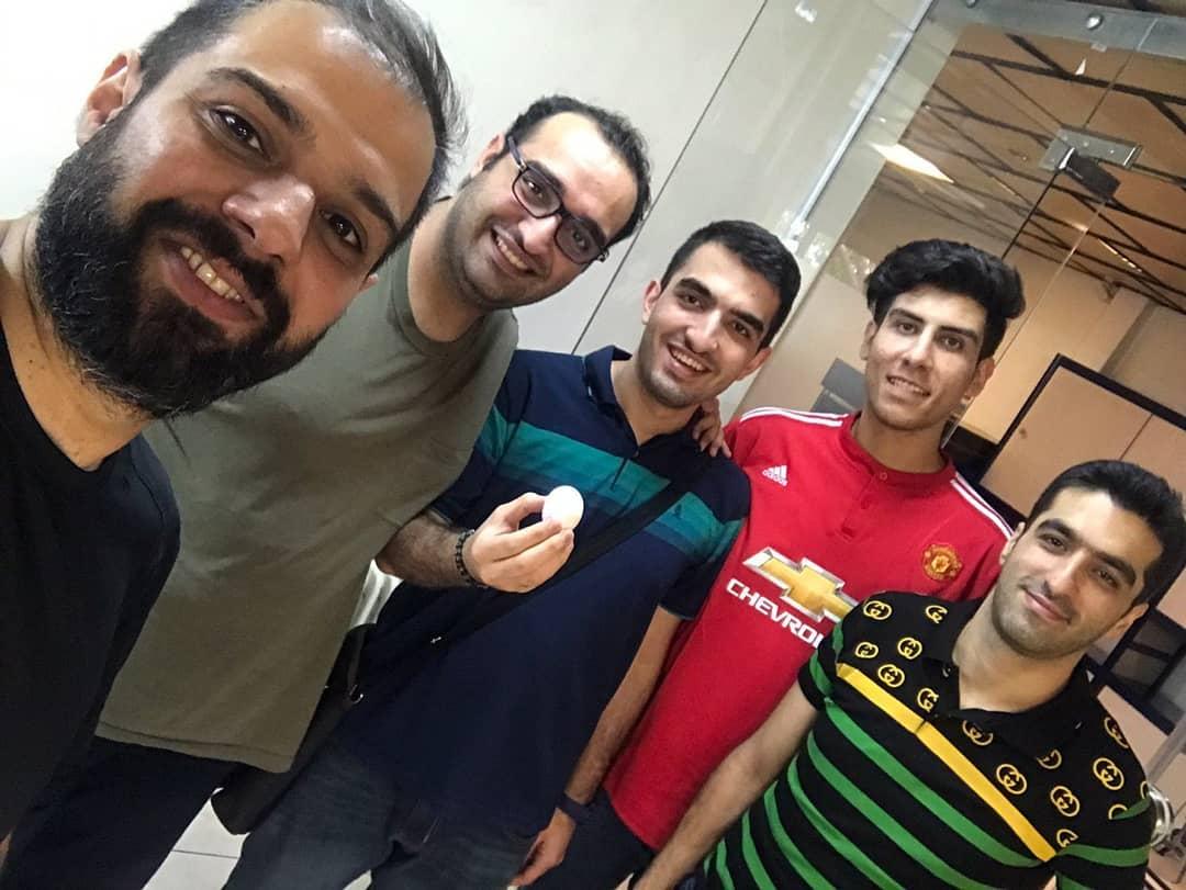 مصاحبه با هادی نوری تهیه کننده و مجری پادکست فوتباللب