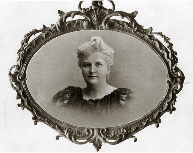 Kate Chopin, circa 1890s. [Prints and Photographs Collection, N11858, Missouri Historical Society, St. Louis]