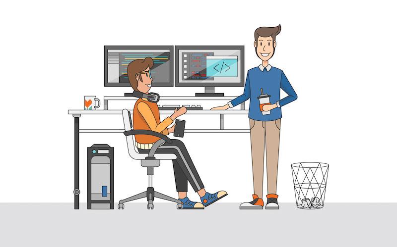 انواع شخصیت برنامهنویسان وب