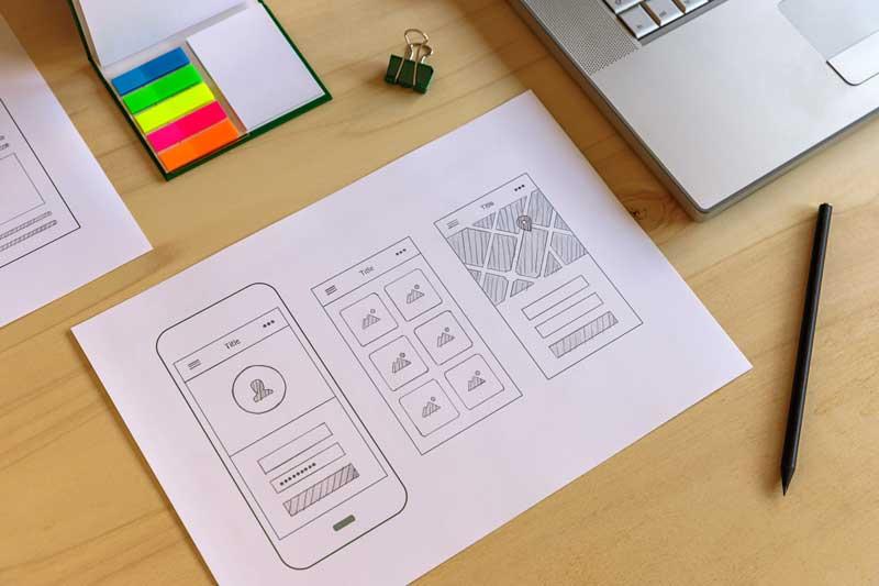 چرا نمونه سازی اولیه در طراحی وب سایت مفید است