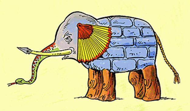 استارتاپ سوار بر فیل مولانا!