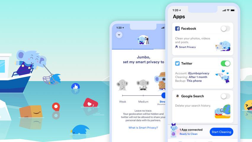 جامبو، اپلیکیشنی برای حفاظت از کاربران در شبکههای اجتماعی