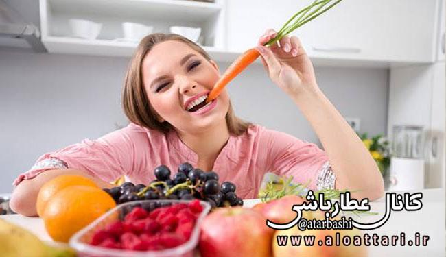 ۲۴ خوردنی برای کوچک کردن شکم و چربی سوزی